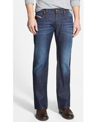 Diesel 'Zatiny' Micro Bootcut Jeans - Lyst