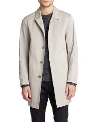 Theory Bales Sturdy Trench Coat - Lyst