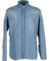 Baldessarini - Denim Shirt - Lyst