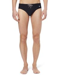 Gucci Black Swim Trunks - Lyst