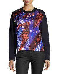 Risto - Printed Front-panel Sweatshirt - Lyst