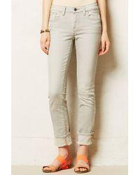 Pilcro - Stet Cuffed Jeans - Lyst