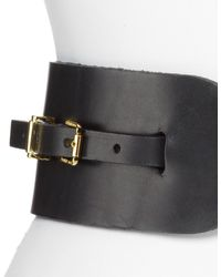 Tory Burch Elastic Safari Belt - Lyst