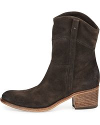 Alberto Fermani Martana Suede Ankle Boot - Lyst