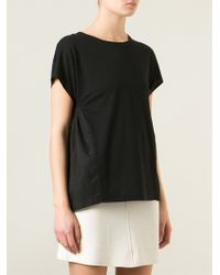 Sonia By Sonia Rykiel Back Pleat Top - Lyst