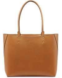 Valextra Amica Leather Tote - Lyst