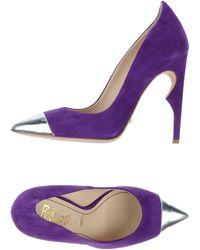 Jerome C. Rousseau Purple Pumps - Lyst