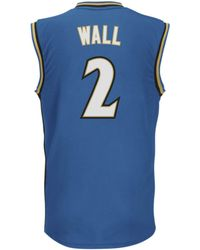 Adidas Mens John Wall Washington Wizards Rev 30 Replica Jersey - Lyst
