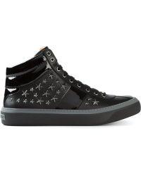 Jimmy Choo 'Belgravia' Hi-Top Sneakers - Lyst