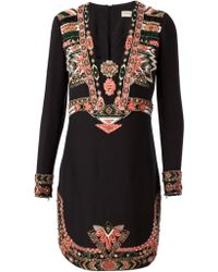 Emilio Pucci Embellished Cocktail Dress - Lyst