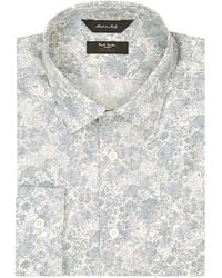 Paul Smith Floral Byard Shirt - Lyst
