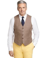 Brooks Brothers Houndstooth Vest - Lyst