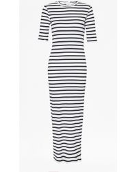 French Connection | Bodycon Stripe Maxi Dress | Lyst
