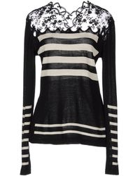 Ermanno Scervino Long Sleeve Sweater - Lyst