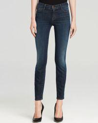 J Brand Jeans - 811 Close Cut Mid Rise Skinny In Storm - Lyst