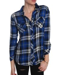 Rails Carmen Button Down - Lyst