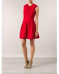 Elle Sasson Pleated Dress - Lyst