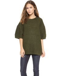 Marc By Marc Jacobs Walley Short Sleeve Sweater  - Lyst