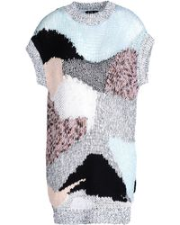 McQ by Alexander McQueen Open-Knit Patchwork Top multicolor - Lyst