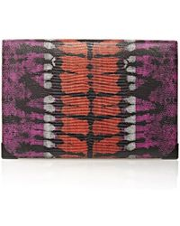 Alexander Wang Prisma Double Biker Purse In Tie Dye Bubba And Flame multicolor - Lyst