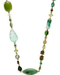 Sharon Khazzam - Gemstone Long baby Necklace - Lyst