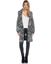 Dolan - Folded Collar Cardigan - Lyst