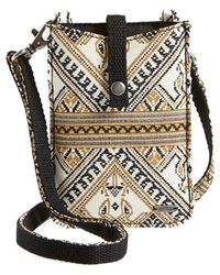 Volcom - 'desert Bound' Crossbody Phone Bag - Lyst