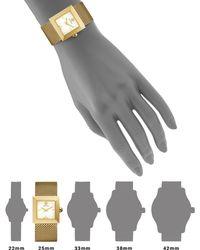 Tory Burch | Sawyer Goldtone Stainless Steel Mesh Bracelet Watch | Lyst