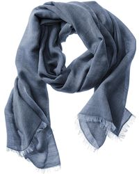 Banana Republic Annie Scarf Cool Water - Lyst