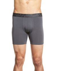 Naked | 'signature' Modal & Cotton Boxer Briefs | Lyst