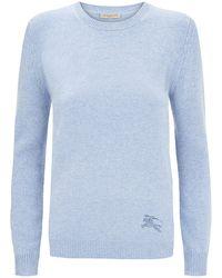 Burberry Brit Logo Sweater - Lyst