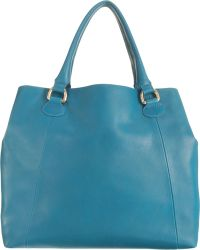 Barneys New York Easy Top Handle Tote - Lyst