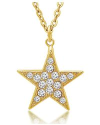 George & Laurel - Nevada Star Necklace - Lyst