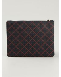 By Malene Birger Dipp Printed Wallet - Lyst
