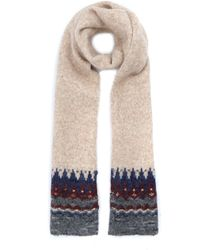 Norse Projects - Cream Fairilse Scarf - Lyst