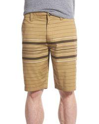 Volcom | 'modern' Stripe Shorts | Lyst