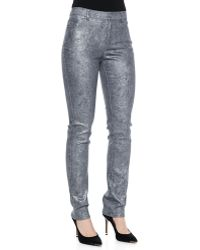 Lafayette 148 New York Curvy Slim-leg Denim Jeans - Lyst