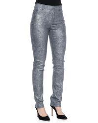 Lafayette 148 New York Curvy Slim-leg Denim Jeans - Lyst