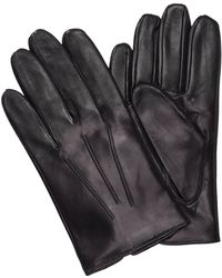HUGO - Leather Gloves 'Hh 50-1' With Cashmere Lining - Lyst