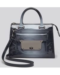 Milly Crossbody Piper Patent Ombre Small Tote - Lyst