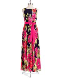 Eliza J Floral Dress - Lyst
