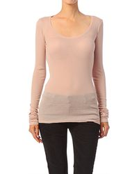 American Vintage Long Sleeve Top  - Lyst