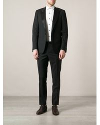 Lanvin Black Dinner Suit - Lyst