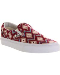 Vans Classic Slip On Trainers - For Women - Lyst
