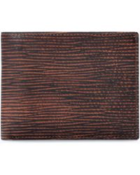 Zara Embossed Leather Wallet - Lyst