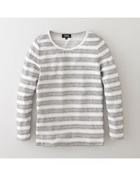 A.P.C. Suzie Sailor Top - Lyst