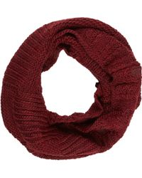 Barneys New York Purple Slouchy Snood - Lyst