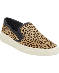 Saint Laurent Lynxprint Skate Slipon Sneakers - Lyst
