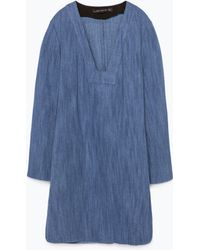 Zara Bell Sleeve Tunic - Lyst