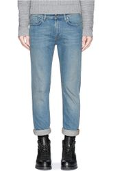Acne Studios 'Ace Carter' Skinny Jeans blue - Lyst